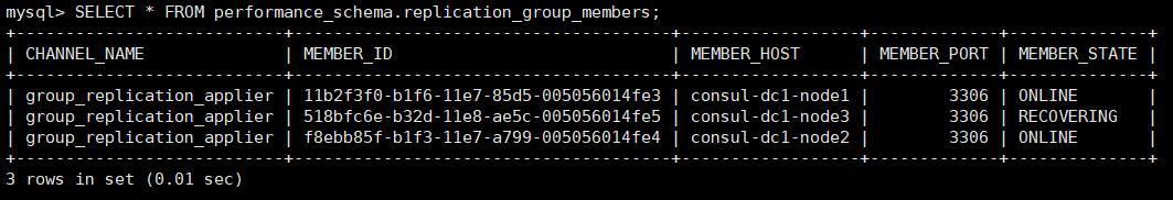 《重新安装MySQL并加入MGR集群》